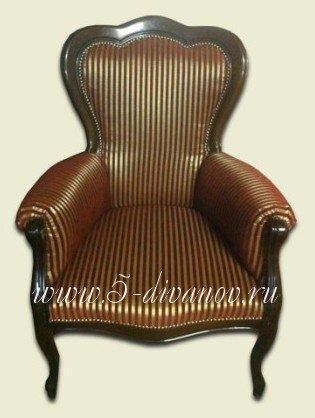Кресло после восстановления обивки