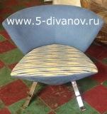 старое кресло до перетяжки